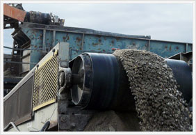Multi-stage cleaning, crushing and sorting process